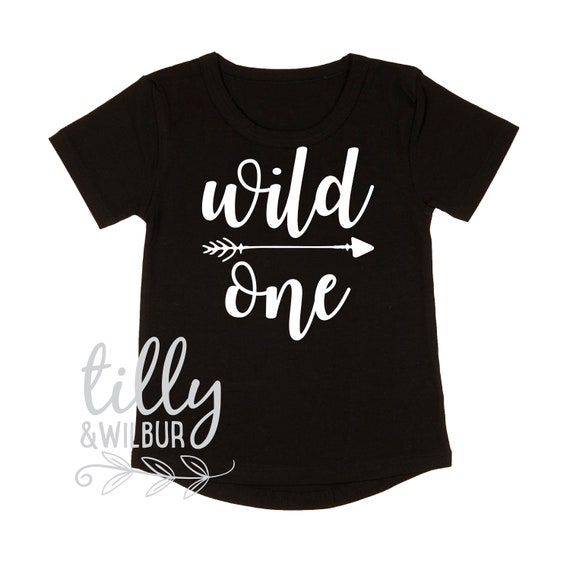 Wild One Boys 1st Birthday T Shirt
