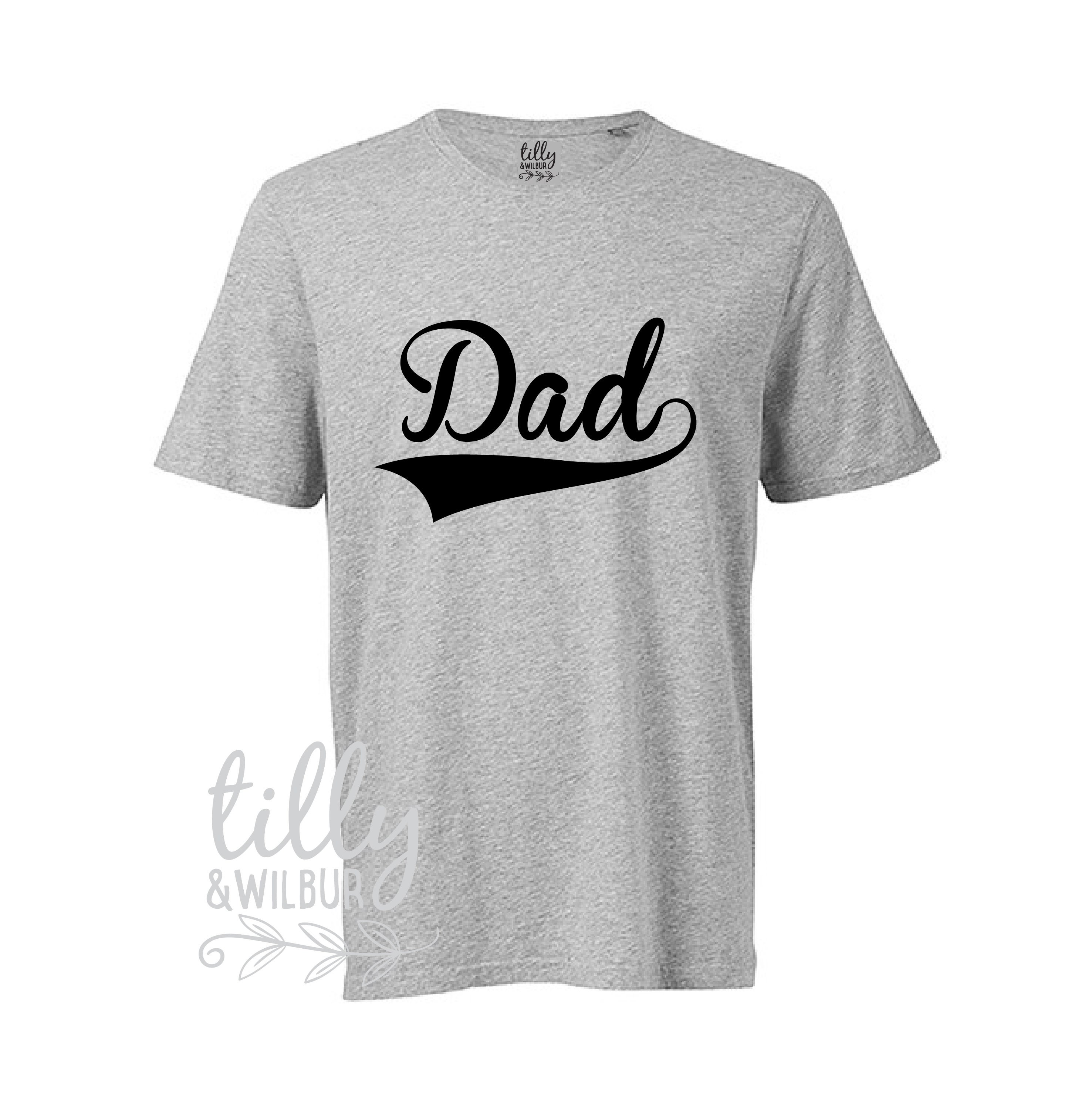 Dad T-Shirt For Men Father\'s Day Gift Men\'s Shirt | Etsy