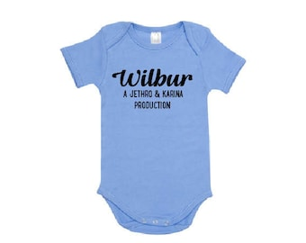 Personalised Production Of Baby Bodysuit