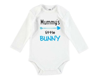Mummy's Little Bunny Baby Bodysuit