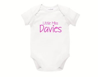 Personalised Baby Bodysuit