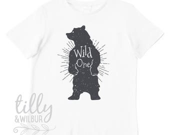 Wild One First Birthday T-Shirt