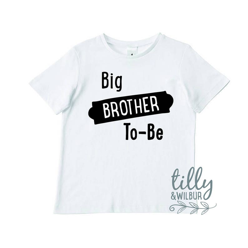 6e5a7f82f2982 Big Brother To-Be Boys T-Shirt, Baby Announcement, Big Bro Gift, Pregnancy  Reveal, Sibling TShirt, Brother Tee, Australian Owned