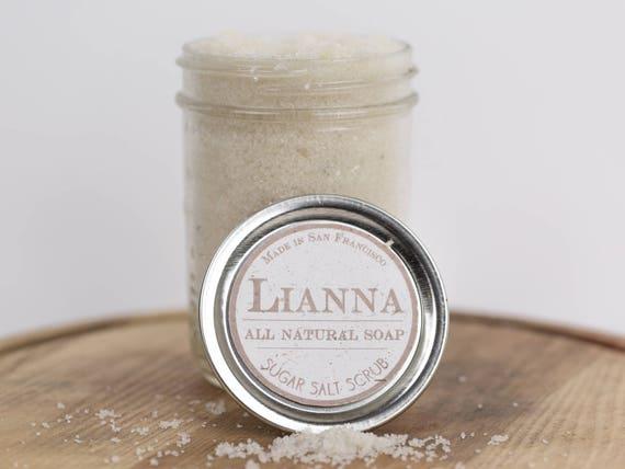 Organic Sugar/Coconut Oil Body Scrub
