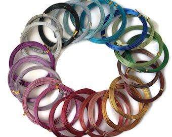 Aluminium Wire 1mm, craft wire, jewellery wire - 10 METERS! (A)