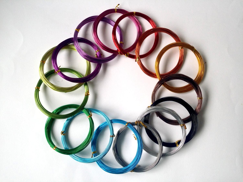 Aluminium Wire 1mm, craft wire, jewelry wire - 10 METERS!