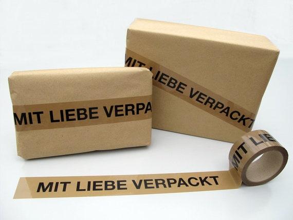 Klebeband Mit Liebe Verpackt Etsy