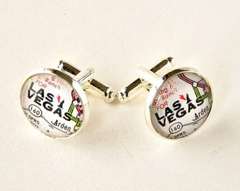 Personalized Cufflinks / Wedding Cufflinks / Groomsmen Gift /  Groom Cufflinks / Best Man Gift / Groomsmen Cufflinks / Travel Theme Wedding