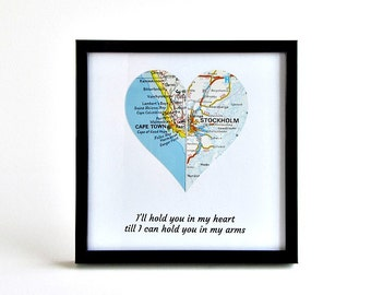 Long Distance Valentine's Gift, Long Distance Boyfriend Gift, Valentine's Day Gift for Boyfriend, for Girlfriend, Long Distance Couple Gifts