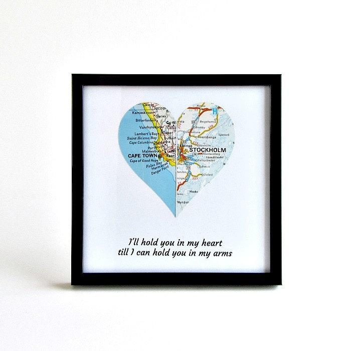 Long Distance Girlfriend Christmas Gift Boyfriend Birthday Relationship