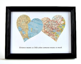 Long Distance Father's Day Gift, Long Distance Dad, Daughter to Father Gift, Moving Away Gift for Parents, Long Distance Gift for inlaws