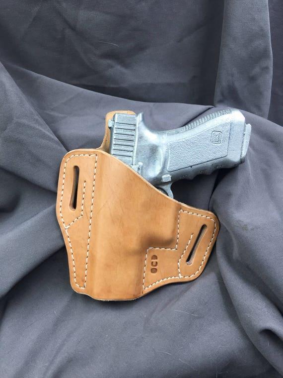 Glock 19 Lefthanded Pancake Holster