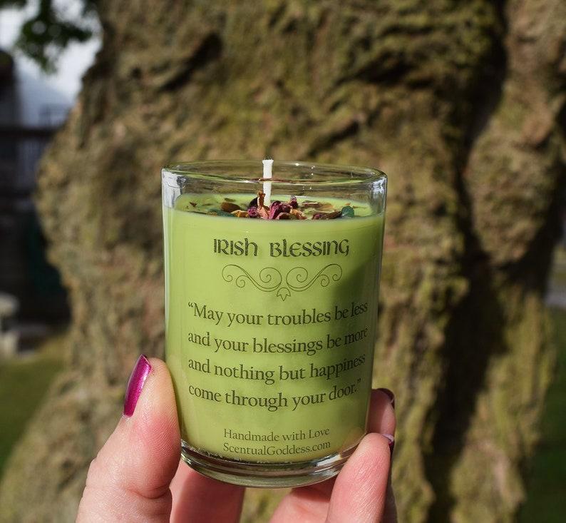601e999e8 Irish Blessing Candle Irish Saying Ireland Celtic | Etsy