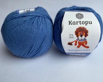 3 Ball Kartopu Amigurumi Total 5.28 Oz Each 1.76 Oz (50g) / 142 ... | 270x340