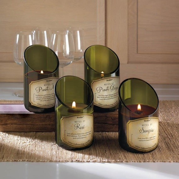 Travel Again -40 Hour Burn Time - Wine Bottle Candles