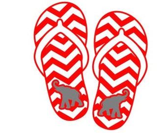 4e860b2e0cbcd7 Elephant SVG Flip Flop SVG Chevron SVG flip flop decor Commercial Free  Cricut Files Silhouette Files Digital Cut Files svg cuts