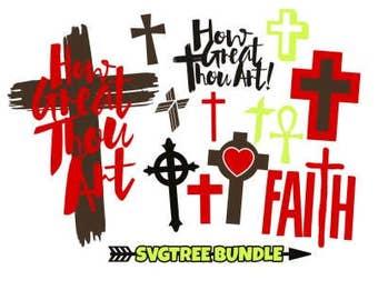 Amazing Grace Svg Cross Svg Christian Svg Christian Cross Etsy
