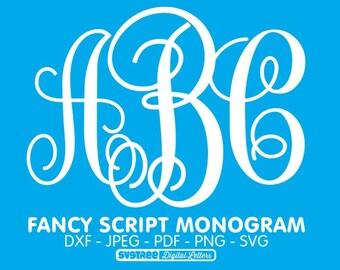Free Monogram Svg Etsy