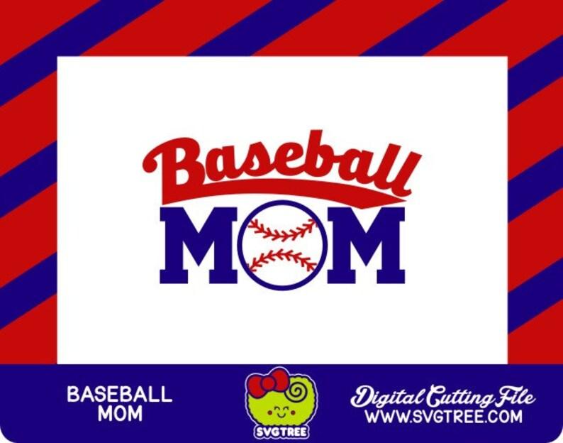 Baseball Mom Svg Baseball Svg Baseball Shirt Commercial Free Etsy
