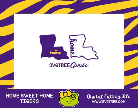 Louisiana SVG State Outline SVG Files Vector Art Cricut ...