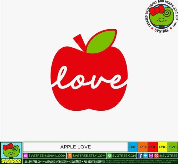 Teacher Love Svg Teacher Appreciation Svg Teacher Svg Etsy