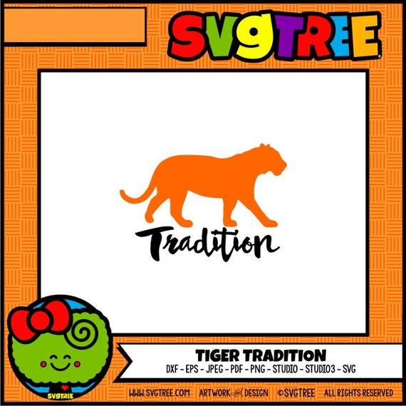 Tiger Svg Tiger Decor Tiger Shirt Design Family Svg Commercial Etsy