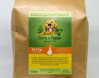 PITTA Dog Food Vegan Organic Ayurveda Dog Food (NO Soy/Gluten/Corn/Wheat) * Handmade
