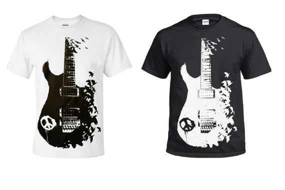 Men/'s Printed Rock Hand Punk Goth T Shirts Sarcasm Tee Top Funny Joke Skeleton