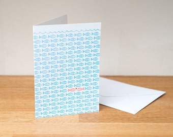 I found you - greeting card. Wedding card, anniversary card, engagement card, valentine card. Paper goods.