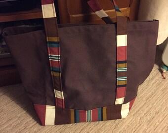 Market Tote bag cotton