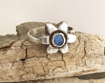 Blue Opal Star Flower