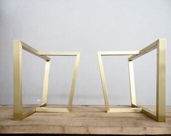 Merveilleux Brass Table Legs | Etsy