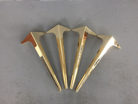 Brass Coffee Table Legs 16 Wings Metal Furniture Legs Etsy