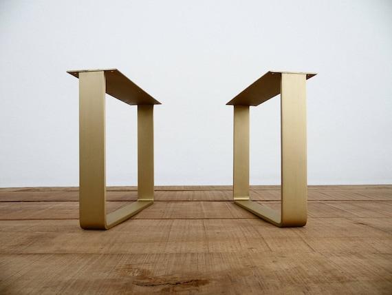 Excellent 16 Flat Brass Table Legs Coffee Table Legs Metal Furniture Legs Height 12 16 Set 2 Ibusinesslaw Wood Chair Design Ideas Ibusinesslaworg