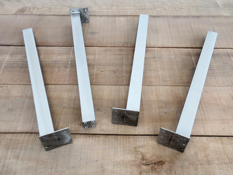 Tisch Beine 28 Post Tischbeine Stahl Edelstahl Höhe Etsy