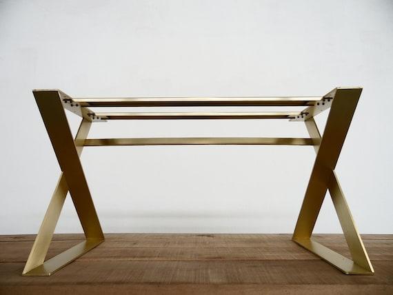 28 H X 24 W Apart 42 X-Frame Flat Brass   Etsy