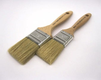 """The """"Better"""" Brushes for use with Plaster Paint and Waxes by the Plaster Paint Company * Chalk Paint"""