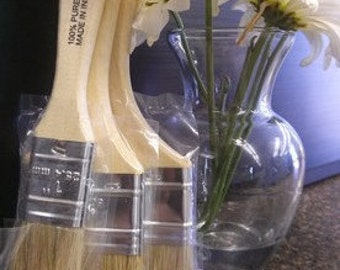 """The """"Good"""" Brushes for use with Plaster Paint and Waxes by the Plaster Paint Company * Chalk Paint"""