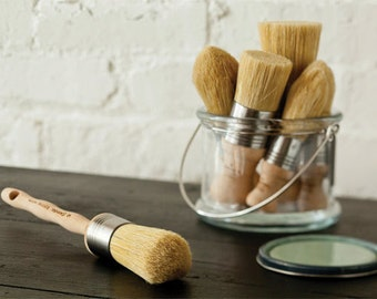 "The ""Best"" Brushes for use with Plaster Paint and Waxes by the Plaster Paint Company * Chalk Paint"