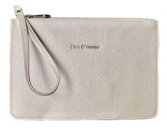 Maid of Honor Bag / Maid Of Honour Purse / Maid of Honour Clutch / Maid of Honor Handbag /  Wedding Bag / Wedding Purse / Wedding Clutch