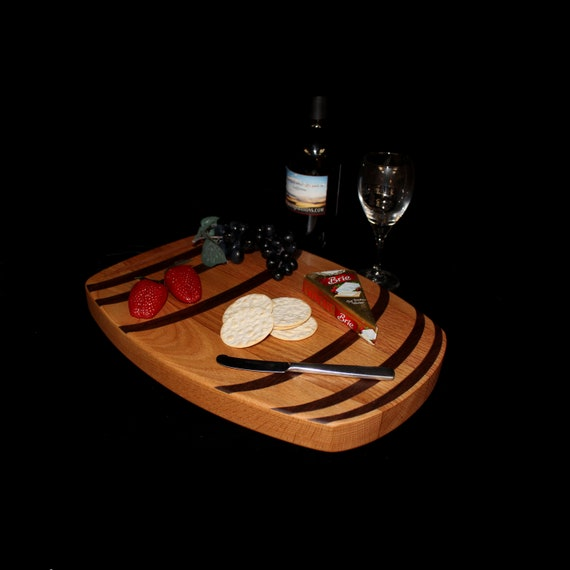 Custom Wine Barrel Cutting Board  / Charcuterie Board / Serving Board 4