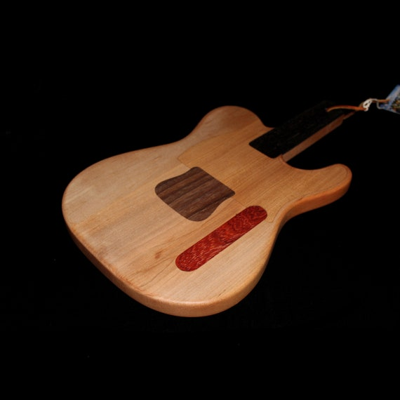 Custom Telecaster Guitar Cutting Board #1