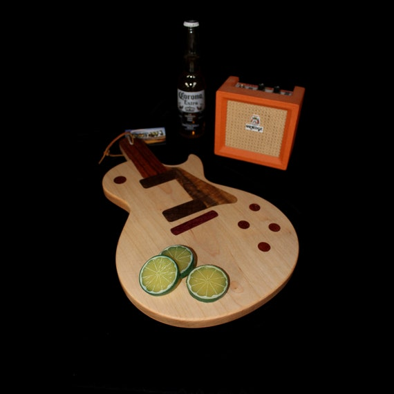 Custom Les Paul Guitar Cutting Board #5