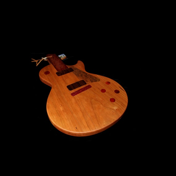 Custom Les Paul Guitar Cutting Board #3