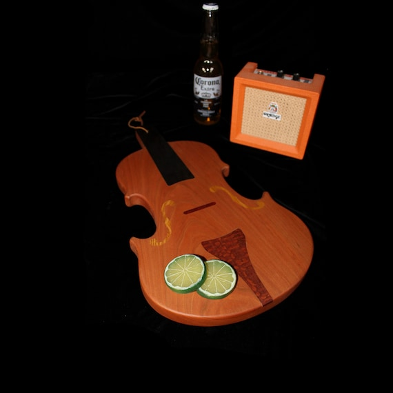 Violin Cutting / Serving Board