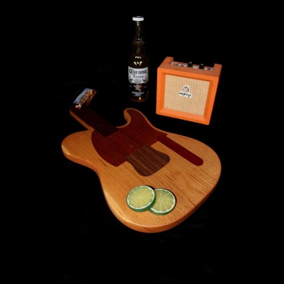 Custom Telecaster Guitar Cutting Board #5