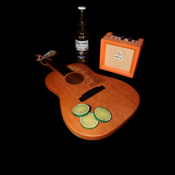 Custom Acoustic Guitar Cutting Board #5
