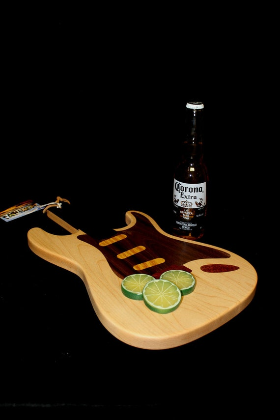 Custom Stratocaster Guitar Cutting Board