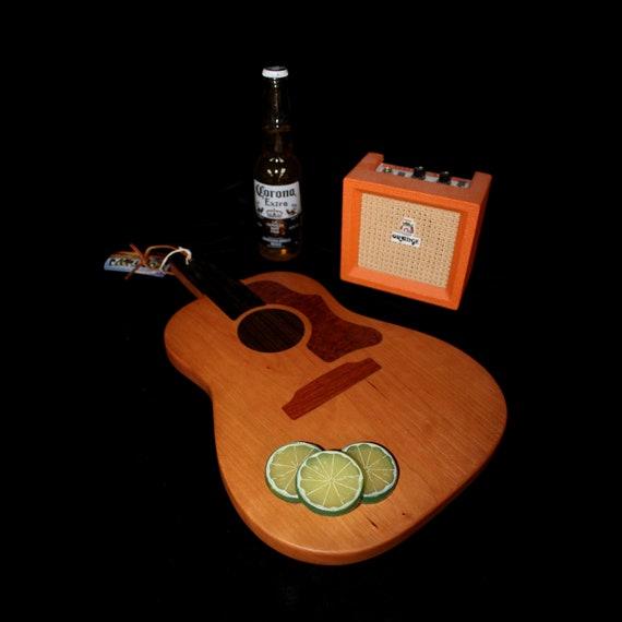 Custom Acoustic Guitar Cutting Board #2