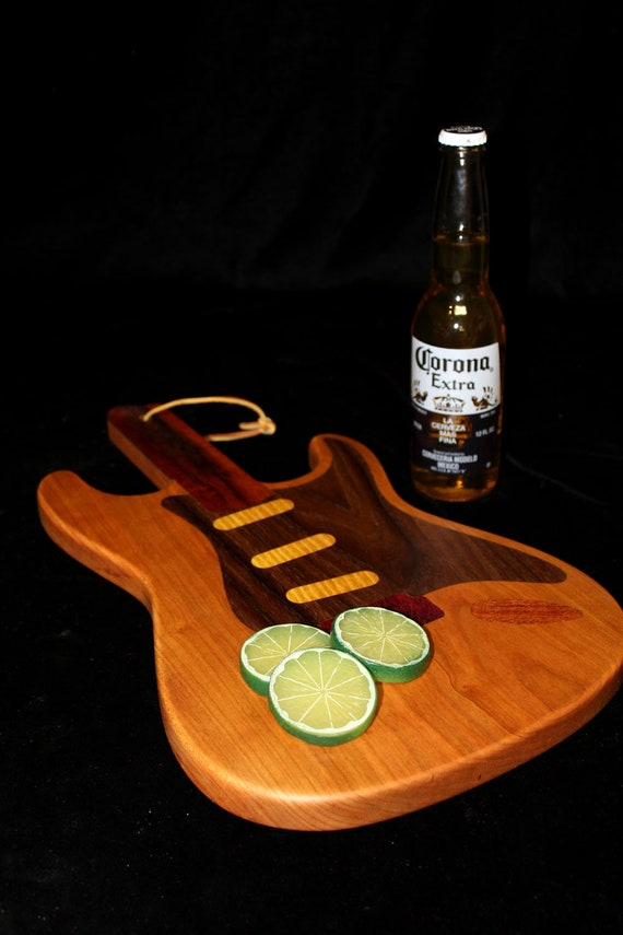 Custom Stratocaster Guitar Cutting Board